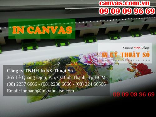 Liên hệ in canvas với Công ty TNHH In Kỹ Thuật Số - Digital Printing