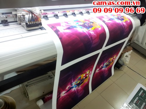 Công nghệ in ấn bằng máy Nhật hiện đại cho ra đời những mẫu tranh canvas trang trí văn phòng chất lượng, có thể in số lượng theo yêu cầu
