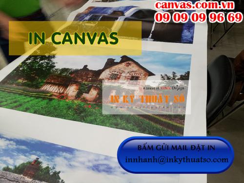 Bấm gửi email đặt in tranh canvas giá rẻ làm phông nền sảnh lễ tân với Công ty TNHH In Kỹ Thuật Số - Digital Printing